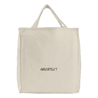 """""""ARCHITECT"""" Embroidered Bag"""