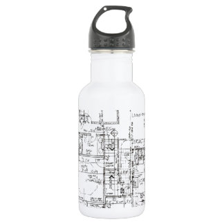 Architects Everything! 532 Ml Water Bottle