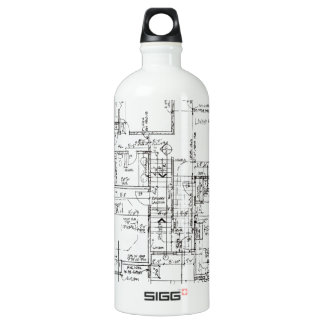 Architects Everything! Water Bottle