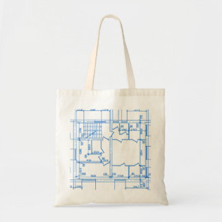 Architectural background tote bag