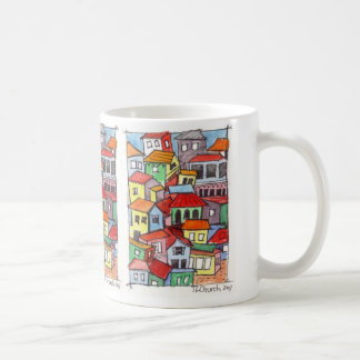 Architectural design coffee cup