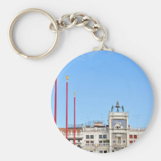 Architectural detail in Venice, Italy Key Ring