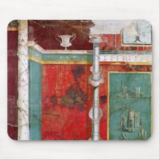 Architectural detail with a landscape mouse pad