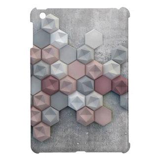 Architectural Hexagons Glossy iPad Mini Case