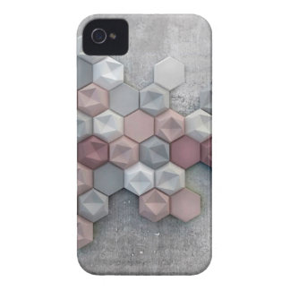 Architectural Hexagons iPhone 4 Case