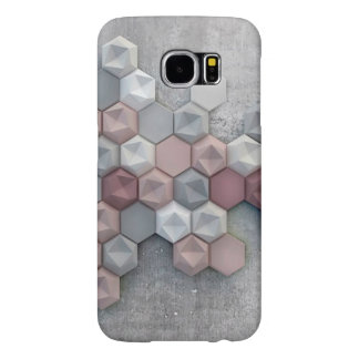 Architectural Hexagons Samsung Galaxy S6 Case