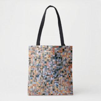 Architectural Jumble Tote Bag