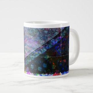 Architectural mosaic jumbo mug