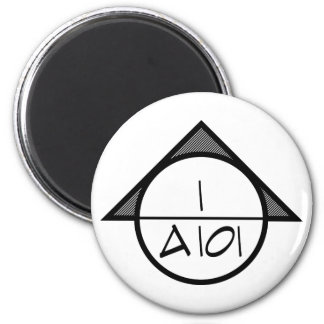 Architectural Reference Symbol Magnet (dark)