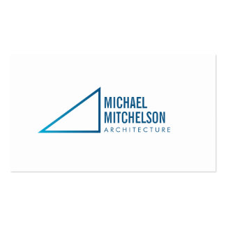 Architectural Right Angle Professional Business Cards