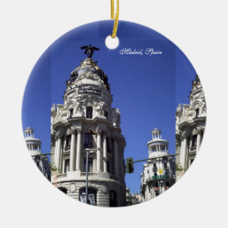Architecture, Blue Skies, Buildings, Churches Christmas Tree Ornaments