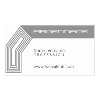architecture pack of standard business cards