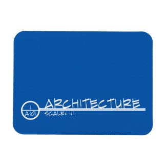 Architecture Drawing Title Magnet (light)