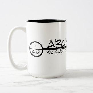 Architecture Drawing Title Mug (dark)