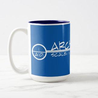 Architecture Drawing Title Mug (light)
