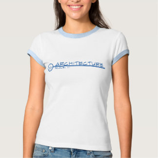 Architecture Drawing Title Shirt (blue)