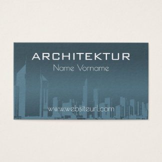 architecture house-build business card
