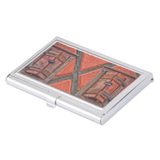 Architecture in Alsace France Business Card Holder