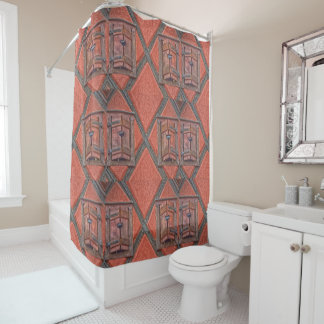 Architecture in Alsace France Shower Curtain