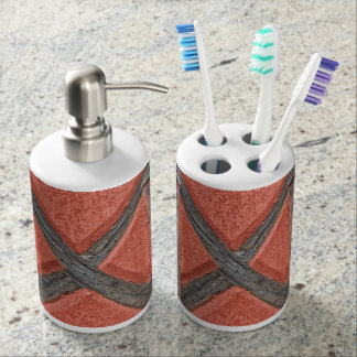 Architecture in Alsace France Soap Dispenser And Toothbrush Holder