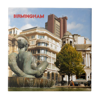 Architecture in Birmingham, England Ceramic Tile