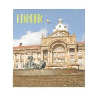 Architecture in Birmingham, England Notepad