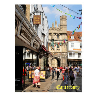 Architecture in Canterbury, Kent, England Postcard