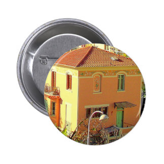 Architecture in Nice France Pinback Button