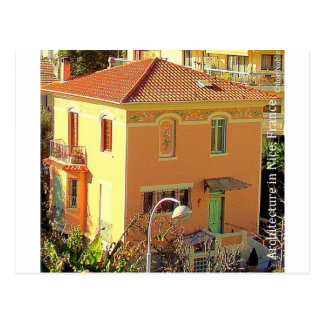 Architecture in Nice, France Postcard