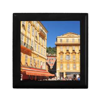 Architecture in Nice, France Small Square Gift Box