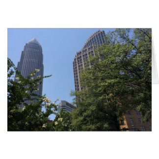 Architecture in North Carolina, America, card