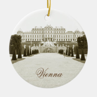 Architecture in Vienna, Austria Ceramic Ornament