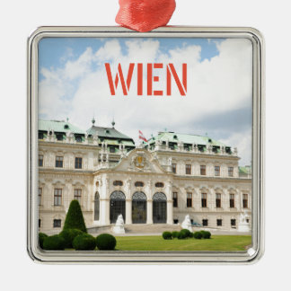 Architecture in Vienna, Austria Metal Ornament