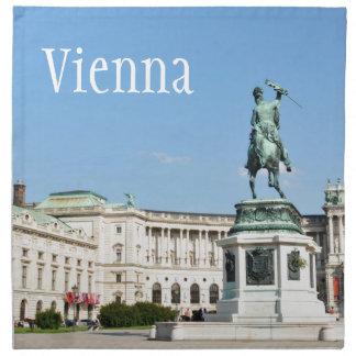 Architecture in Vienna, Austria Napkin
