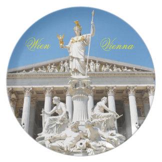 Architecture in Vienna, Austria Plate