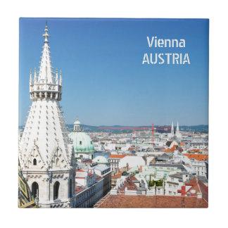 Architecture in Vienna, Austria Tile