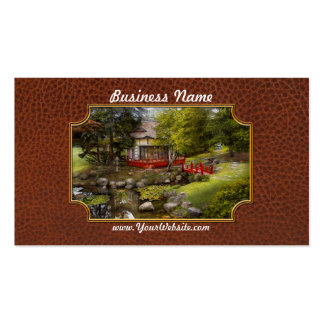 Architecture - Japan - Tranquil moments Business Card Template