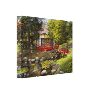 Architecture - Japan - Tranquil moments Canvas Print