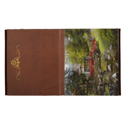 Architecture - Japan - Tranquil moments iPad Folio Case