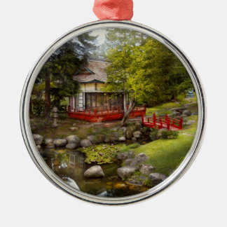 Architecture - Japan - Tranquil moments Christmas Ornaments