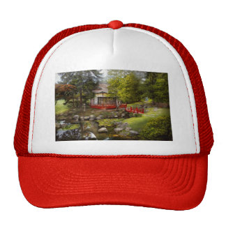 Architecture - Japan - Tranquil moments Mesh Hat