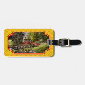 Architecture - Japan - Tranquil moments Tag For Luggage