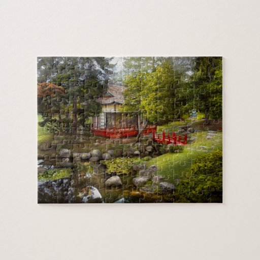 Architecture - Japan - Tranquil moments Jigsaw Puzzles