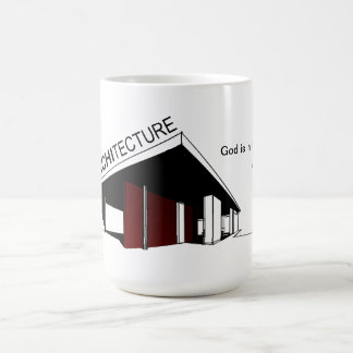 Architecture Mies van der Rohe Coffee Mug