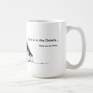 Architecture: Mies van der Rohe Coffee Mug