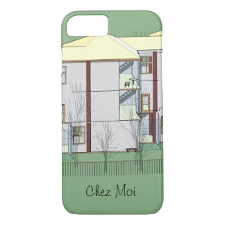 Architecture model house iPhone 7 case
