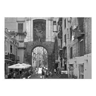 Architecture of Naples Photo Print