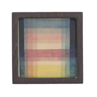 Architecture of the Plain by Paul Klee Premium Jewelry Boxes