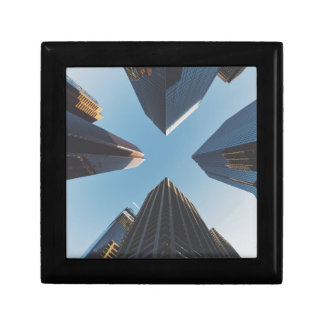 architecture small square gift box