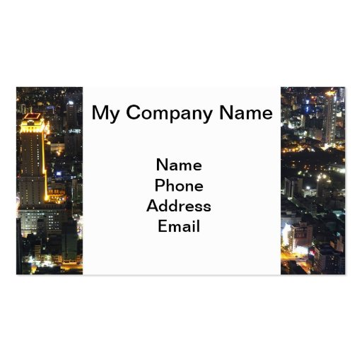 Architecture, Urban Planning and City Design Business Card Template